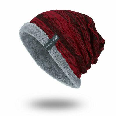 Winter Beanies Slouchy Chunky Hat for Men Women Warm Soft Skull Knitting Caps 9