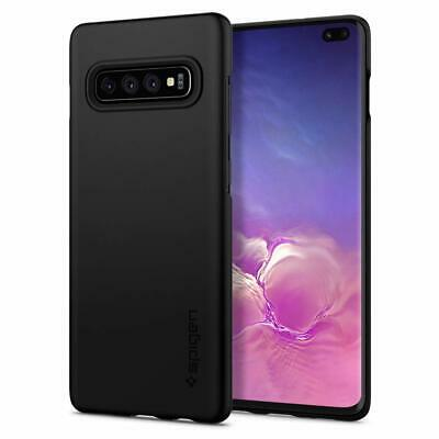 Samsung Galaxy S10 5G S10e S9 S8 Plus Case Genuine SPIGEN Thin Fit Hard Cover 2
