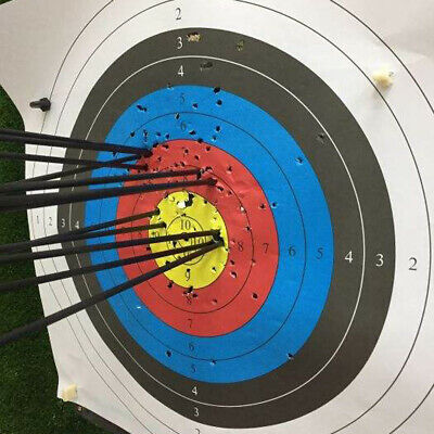 """28""""/30'/31""""' Archery Carbon Arrows For Recurve Compound Bow Hunting Screw Point 8"""
