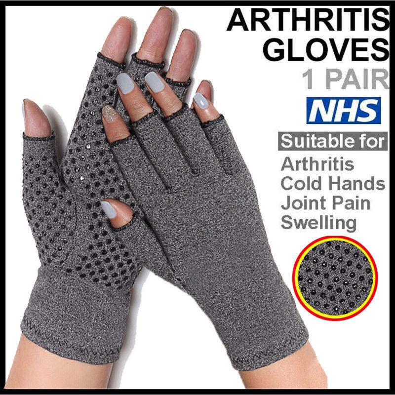 Anti Arthritis Gloves Hand Support Pain Relief Arthritis Finger Compression GW 3