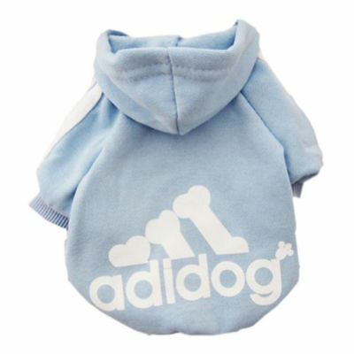 Puppy Pet Dog Clothes Hoodie Winter Sweatshirt Shirt Pet Coat Jacket S-9XL