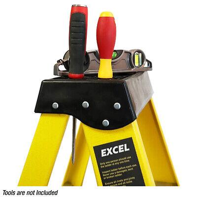 NEW! HEAVY DUTY Electricians Fibreglass Step Ladder Catwalk 6 Tread EN131  Excel