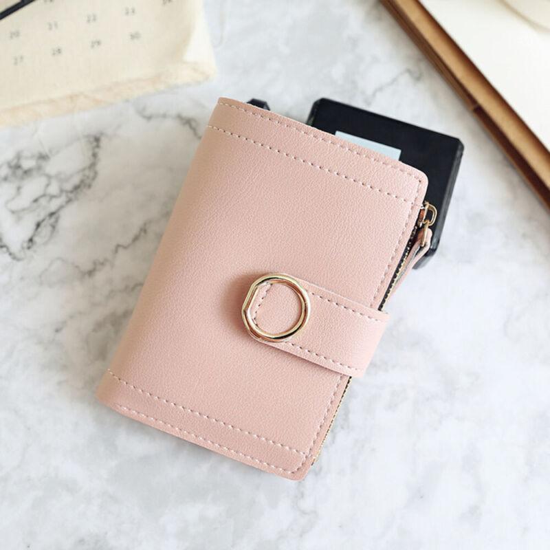 Fashion Women Ladies Leather Purse Money Clip Wallet Clutch Card Bag Holder Gift 11