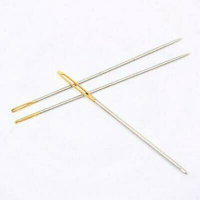 Assorted Hand Sewing NEEDLES - Embroidery Mending Craft Quilt Case Sew 30pcs Kj 3