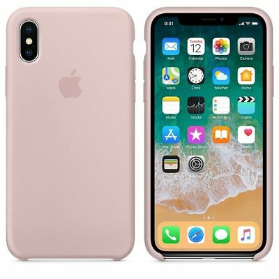 Original Silicone Leather Case For iPhone XR XS Max 6 7 8 Plus Genuine OEM Cover 5