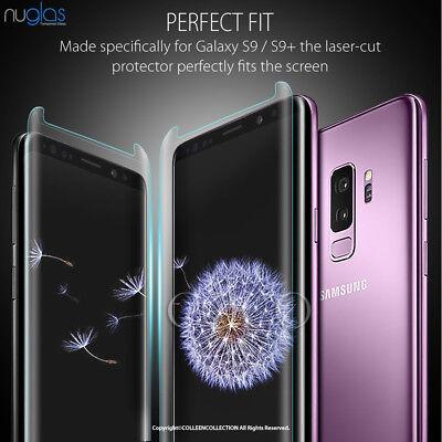 Samsung Galaxy S10 E S9 S8 Plus Note 9 8 NUGLAS Tempered Glass Screen Protector 3