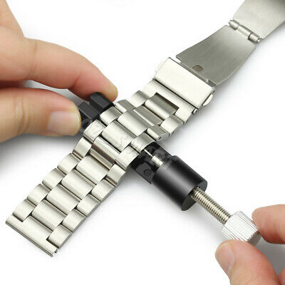 Metal Adjustable Watch Band Bracelet Repair Tool Link Pin Remover 6 Replace Pins 2