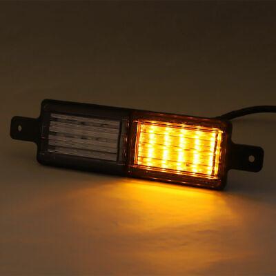 2X Sealed Bullbar Lights Set Front Indicator Park LED Bull Bar Light 11