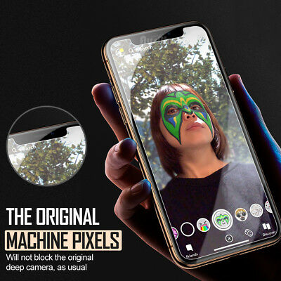 Apple iPhone XS Max XR 8 7 NUGLAS FRONT AND BACK Tempered Glass Screen Protector 10