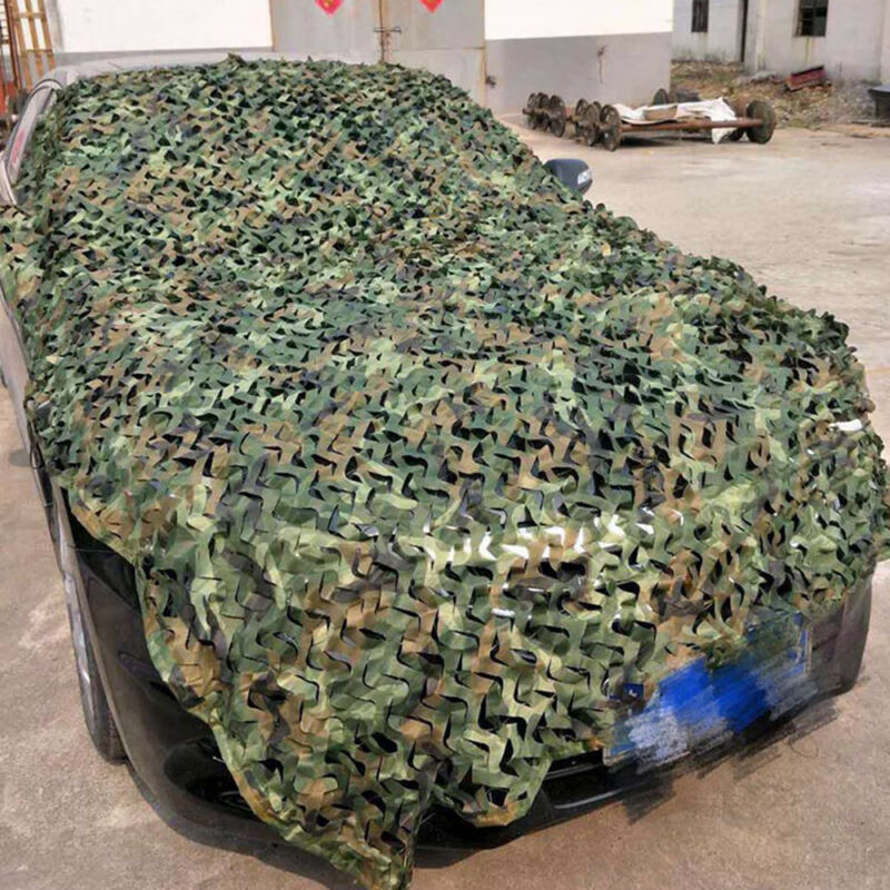 Camo Net Camouflage Netting Hunting Shooting Hide Glare Proof Nets Hide Army CA 5