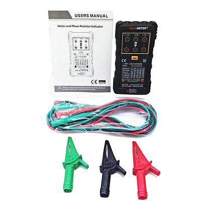 PEAKMETER MS5900 Three-phase System Motor Rotation Indicator Tester Handheld