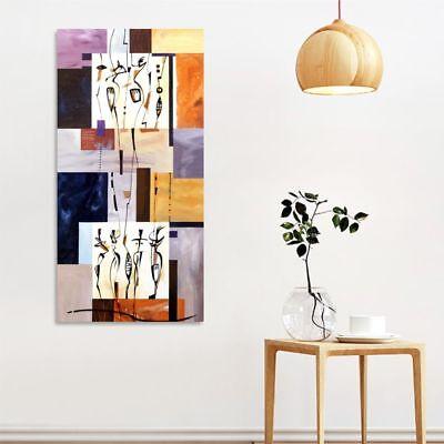 SPIRIT quadro moderno stampa su tela 45x90 pannello verticale soggiorno salotto 2