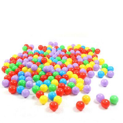 100pcs Colorful Ball Soft Plastic Ocean Ball Funny Baby Kids Swim Pit Pool Toys 6