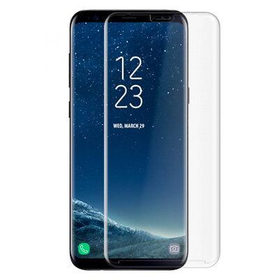 Vitre Protection VERRE Trempé Incurvé Film Ecran Samsung Galaxy S7 S8 Plus S9 3D 9