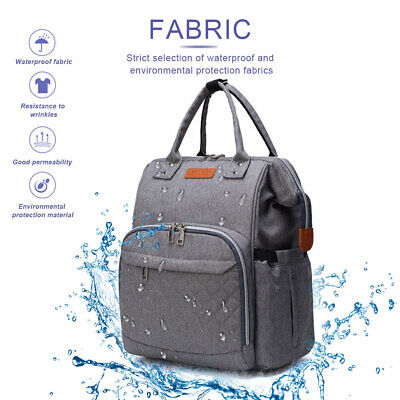 Multi-Function Tote Baby Mummy Bag Changing Bags Diaper Nappy Rucksack Backpack 5