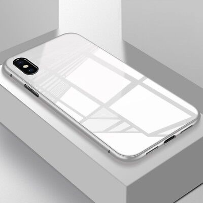 iPhone X XS MAX XR Case Metal Luxury Thin Slim Shockproof Cover For Apple Phone 9