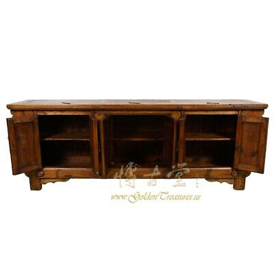 Antique Chinese Rustic Long Sideboard/Buffet Table, Credenza 2