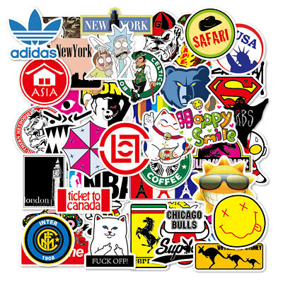 100 Skateboard Stickers bomb Vinyl Laptop Luggage Decals Dope Sticker Lot cool 2