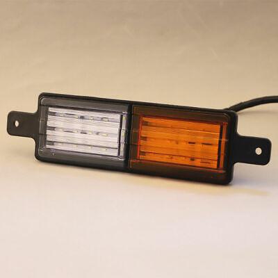 2X Sealed Bullbar Lights Set Front Indicator Park LED Bull Bar Light 9