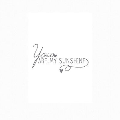 Sunshine Motivational Inspirational Positive Thoughts Quote Poster Print Wall 81 3