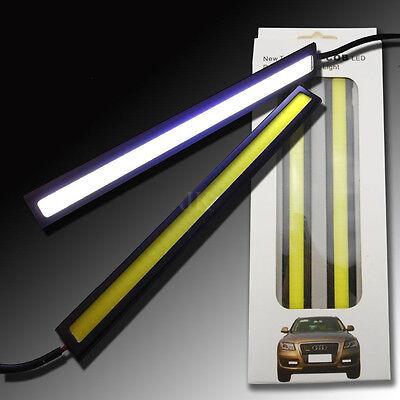4x Super Bright Lights -DRL Fog Driving Lamp Waterproof DC 12V White Car COB LED 4