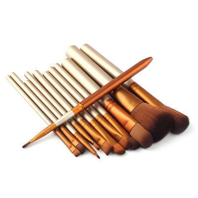 12Pcs Pro Kabuki Makeup Brushes Set Foundation Powder Eyeshadow Blending Brush 6
