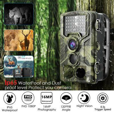 UK 16MP Hunting Trail Camera HD 1080P Wildlife Scouting Cam Night Vision IP65 2