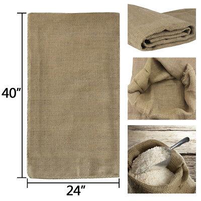 4 24x40 Burlap Bags, Burlap Sacks, Potato Sack Race Bags, Sandbags, Gunny Sack 3