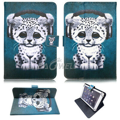 "For Apple iPad 2 3 4/Air/Mini/Pro 9.7"" 10.2"" Universal Leather Stand Case Cover 7"