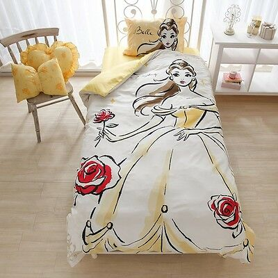 Disney Beauty and The Beast Belle Bed Cover 3-piece set SB-118 New Japan 2
