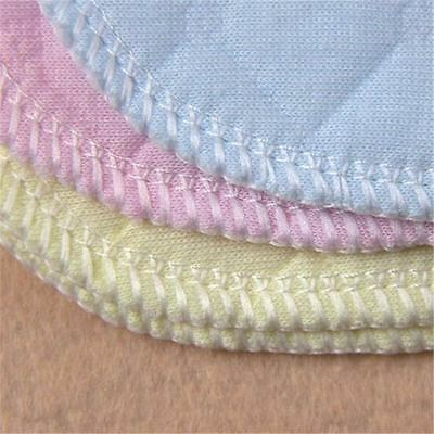 5 PCS Adjustable Reusable Lot Baby Washable Cloth Diaper Nappies White Pink New 3