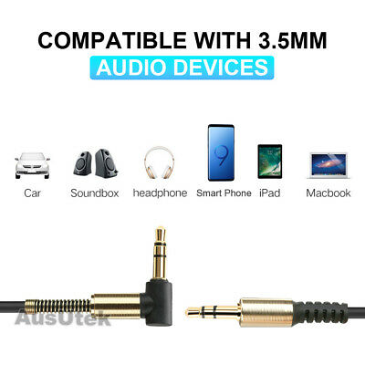 NEW AUX Cable 3.5mm Stereo Audio Input Extension Male to Male Auxiliary Car Cord 7