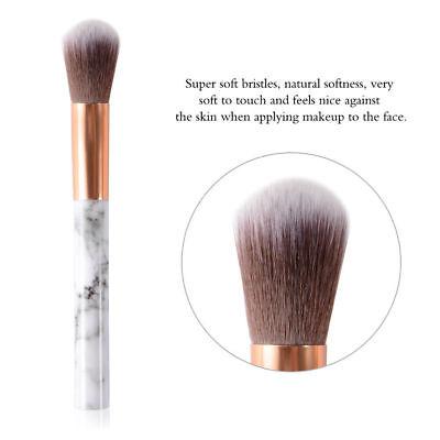 10pcs Kabuki Professional Make up Brushes Set Foundation Blusher Face Powder AU 8