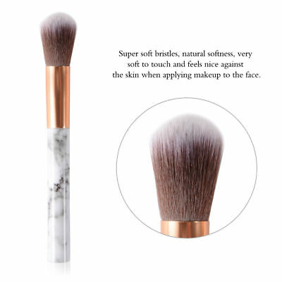 10pcs Kabuki Style Professional Make up Brush Set Foundation Blusher Face Powder 8