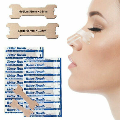 100 + 10 Tan Better Breath Nasal Strips Sm/Med Or Large Right Way To Stop Snore! 6