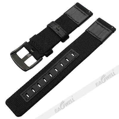 For Samsung Galaxy Watch Gear S3 SPORT 42 / 46mm Leather Nylon Watch Band Strap 4