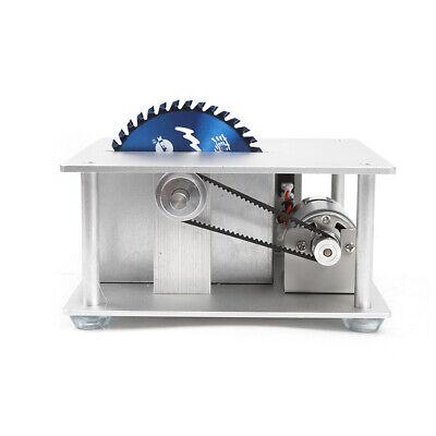Mini Precision Table Saw DIY Woodworking Lathe Polisher Cutting Machine+3 blades 3