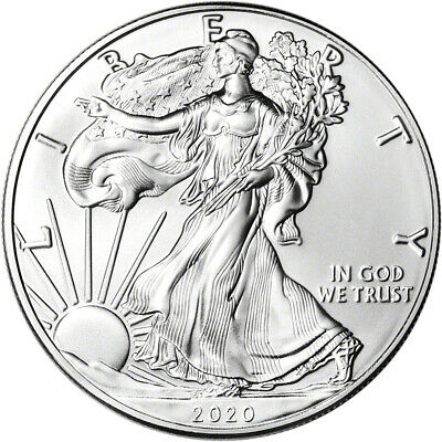 2020-(W) American Silver Eagle - PCGS MS70 - First Strike Red Flag Label 3