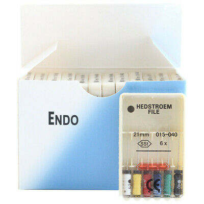 10 Packs Dental HEDSTROEM FILE 21/25/31mm Endodontic Hand Use Root Canal H Files 2