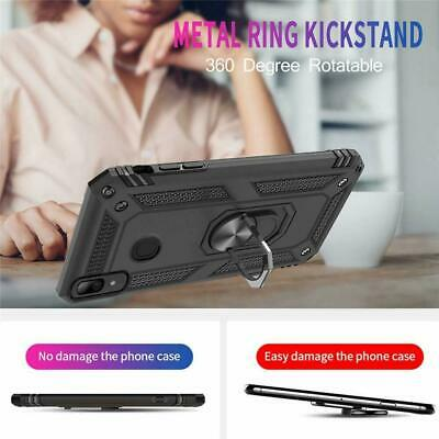 For Samsung Galaxy A70  A71 Ring Holder Case Heavy Duty Cover Screen Protector 4