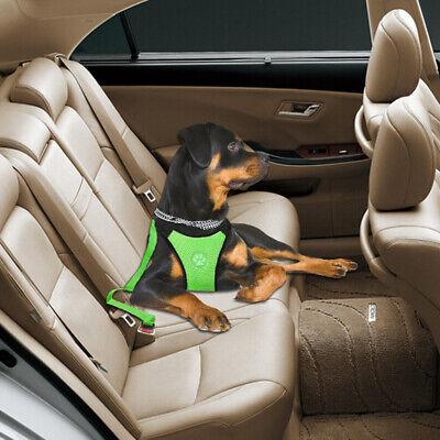 Air Mesh Dog Car Seat Belt Dog Harness&Seat Belt Clip Leash for Dog Travel S M L 12