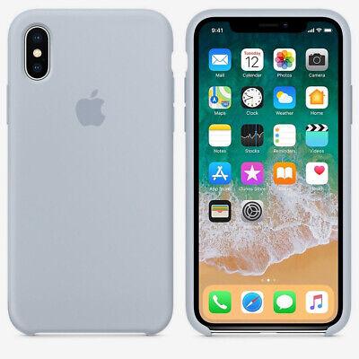 Genuine Original Silicone Case Cover For Apple iPhone X XR XS Max 7 8 6 6S Plus 6