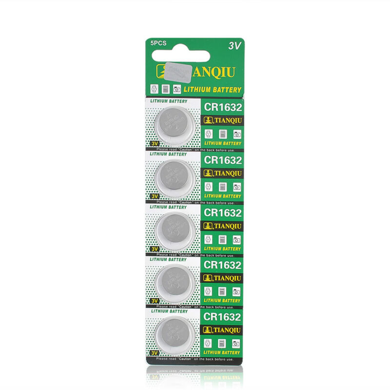 Consumer Electronics CR1632 3 Volt Coin Cell Battery (5 Batteries) 4