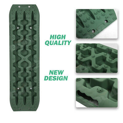 X-BULL New Recovery Tracks Sand Track Mud Snow Grass Olive Trax ATV OffRoad 4WD 9