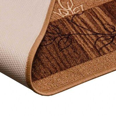 Läufer Teppichläufer Mediterran Top Modernes Design Flur Diele Beige 80 cm Breit