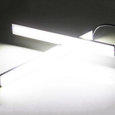 Waterproof 17cm COB Car LED Lights 12V for DRL Fog Light Driving lamp 4