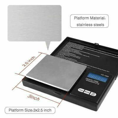 Digital Scale 1000g x 0.1g Jewelry Pocket Gram Gold Silver Coin Herb Precise NEW 4