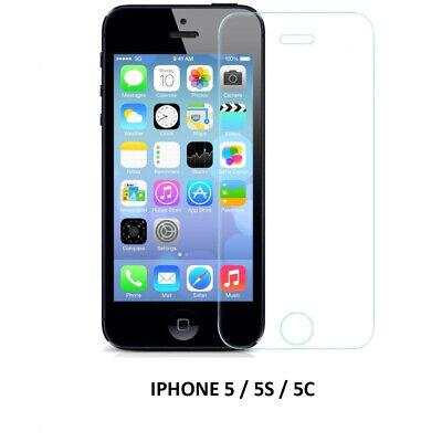 Pack Funda Silicona + Cristal Templado IPHONE 5 / 5S / 5C / SE Protector Vidrio 2