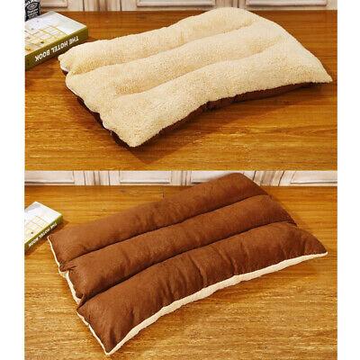 Large Pet Bed Mattress Dog Cushion Pillow Mat Washable Soft Winter Warm Blanket 9