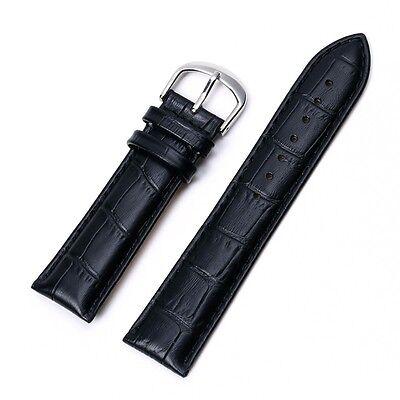 Uhrband Uhrenarmband Uhrenband Armband Kalbs Leder Kroko Narbung Krokodilprägung 3